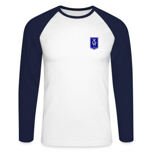 TGH Raglanshirt II, beflockt - Männer Baseballshirt langarm