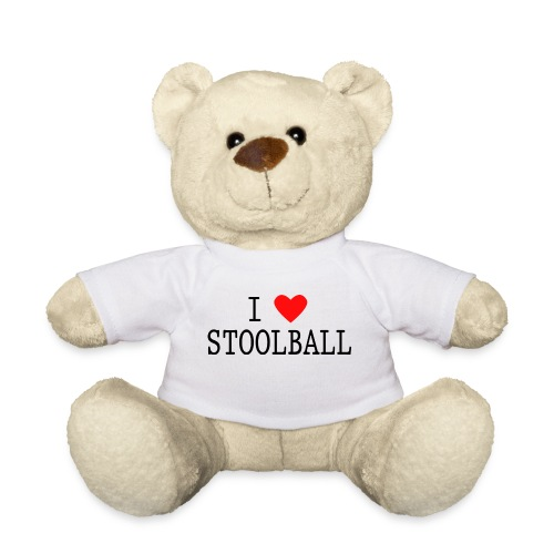 I Love Stoolball Teddy Bear - Teddy Bear