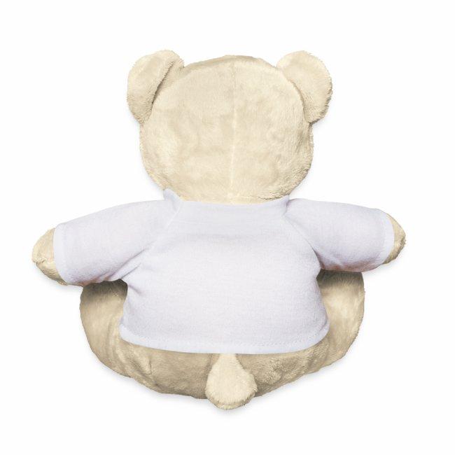I Love Stoolball Teddy Bear