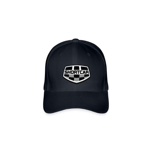 Flexfit Caps med sort logo - Flexfit baseballcap