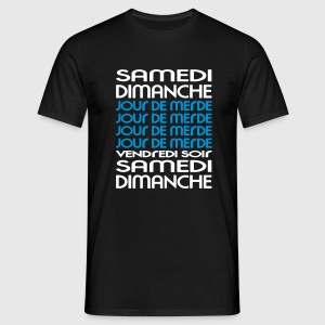 Vivement le Week End (2c) Tee shirts - T-shirt Homme