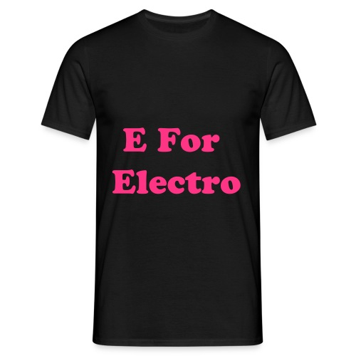 E for Electro - T-shirt Homme