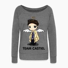 Team Castiel (light) Hoodies & Sweatshirts