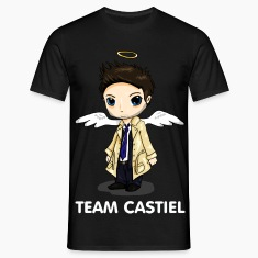 Team Castiel (dark) T-Shirts