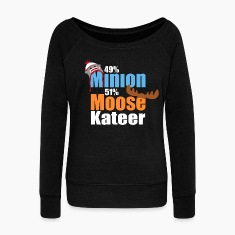 49% Minion 51% MooseKateer Hoodies & Sweatshirts