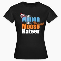 50% Minion 50% MooseKateer T-Shirts