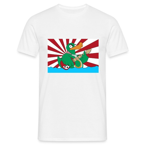 Basic T-Shirt duck@war - Männer T-Shirt
