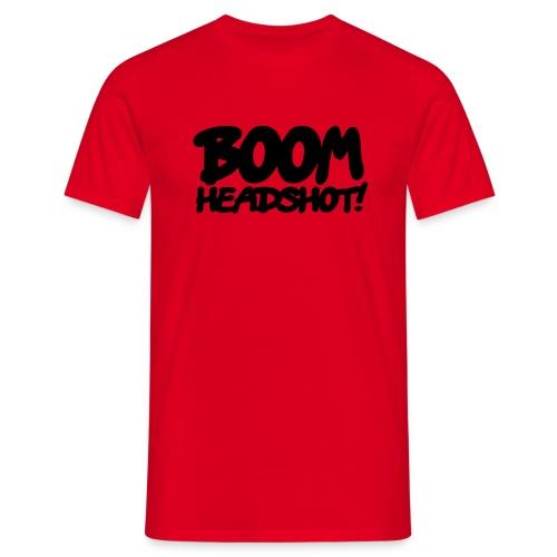 Maglietta HeadShot Uomo - Maglietta da uomo
