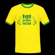 T-Shirts ~ Männer Kontrast-T-Shirt ~