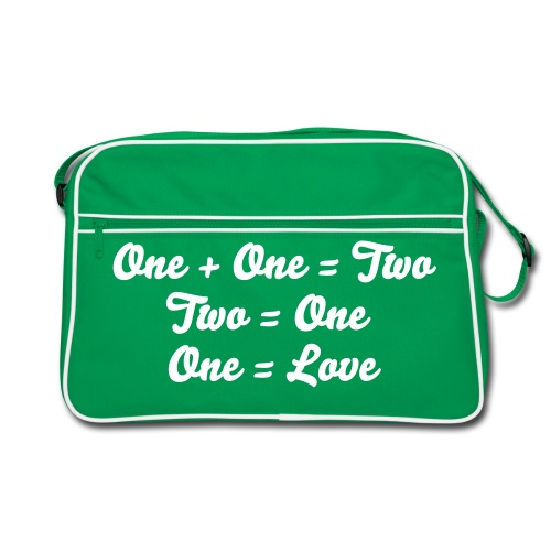 One Love - Retro Tasche