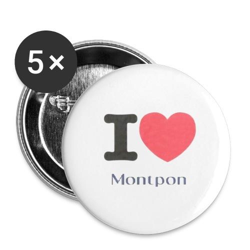 BADGE Y LOVE MONTPON - Badge grand 56 mm