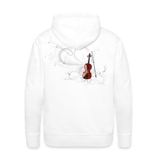 Harmonique - Sweat-shirt à capuche Premium pour hommes