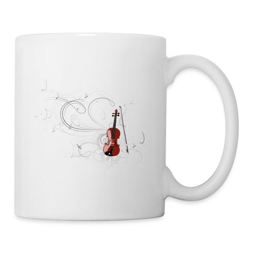 Réveil en musique - Mug blanc