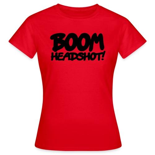 Maglietta HeadShot Donna - Maglietta da donna