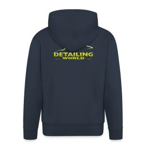 Detailing World Hooded Jacket 'Gold Logo' - Men's Premium Hooded Jacket