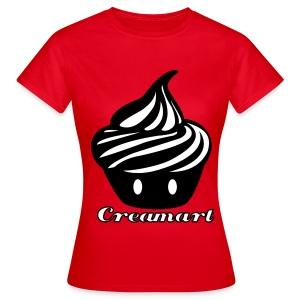 T-shirt Cupcake Géant Creamart Femme - T-shirt Femme