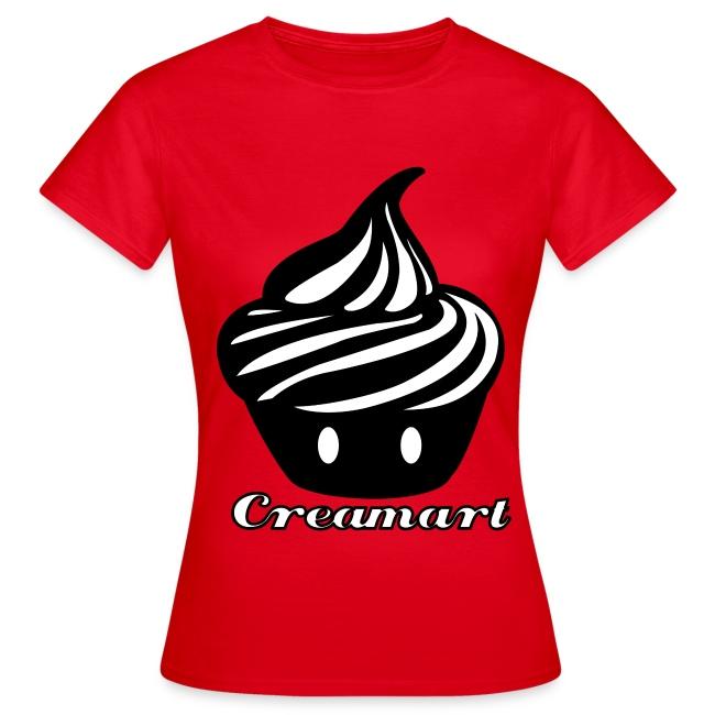 T-shirt Cupcake Géant Creamart Femme