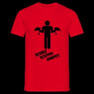 T-Shirts ~ Men's T-Shirt ~ Double Dolphin Hands!