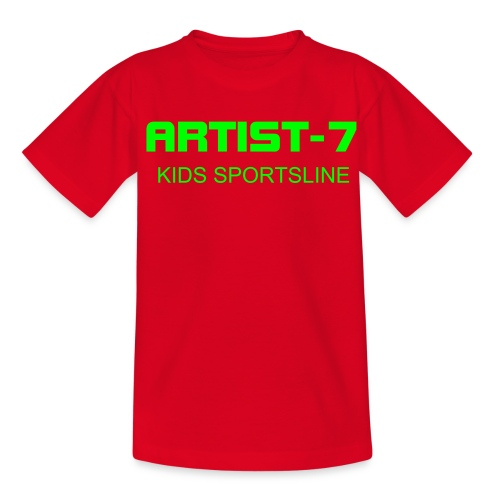 A-7 KIDSSPORTS T SHIRT - Teenage T-shirt