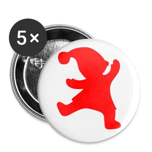 Rintanappi 56 mm 5 kpl - Rintamerkit isot 56 mm (5kpl pakkauksessa)