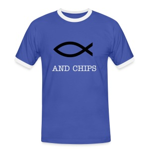 fish and chips - Men's Ringer Shirt