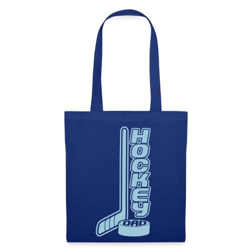 'Hockey Dad' Tote Bag (Stick & Puck) - Tote Bag