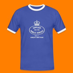Supplied for the public service men's tee - Men's Ringer Shirt