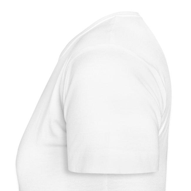 Women's Classic T-Shirt 'Ganja Love' White/Red