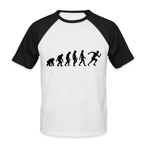 on your marks, get set - go - Men's Baseball T-Shirt