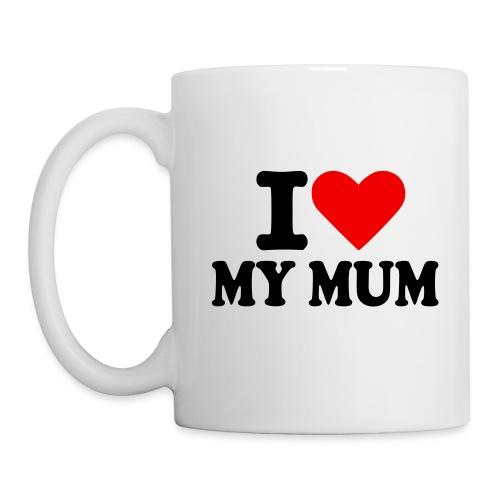 I <3 My Mum - Mug  - Mug