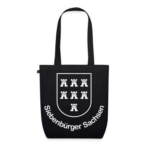 Schicke Tasche 'Siebenbürger Sachsen' mit den sieben Burgen Siebenbürgens - Bio-Stoffbeutel
