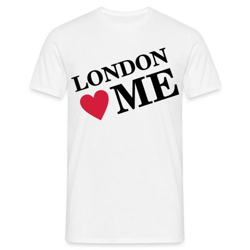 London Loves Me - Men's T-Shirt