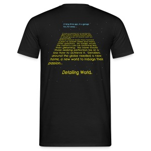 Detailing World 'Space History' T-Shirt (Men's) - Men's T-Shirt