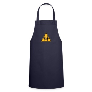 Lesbian Shop: Cooking Apron with Lesbian Symbol - Cooking Apron