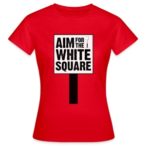 Aim for the White Square Women's T-Shirt - Women's T-Shirt