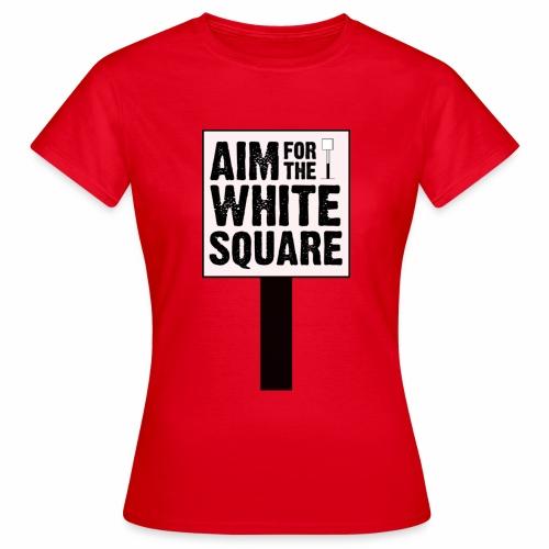 Aim for the White Square Women's T-Shirt - Women's T-Shirt