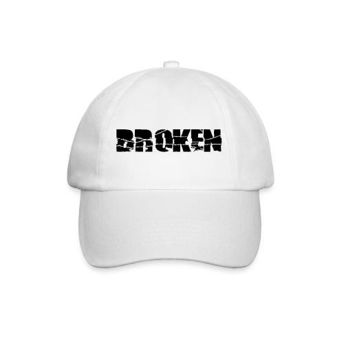 Broken - WHT cap - Male - Baseball Cap