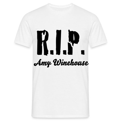 RIP Amy Winehouse - T-shirt Homme