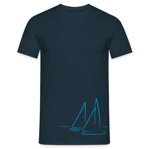 Sail on by tee  - Men's T-Shirt