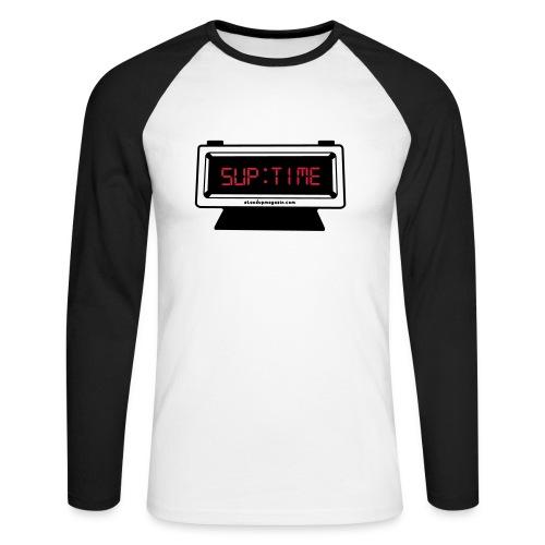 SUP TIME - Männer Baseballshirt langarm