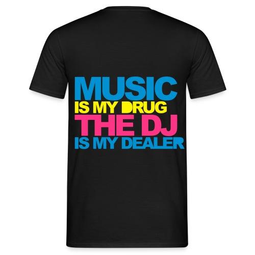 DJ Drug - Männer T-Shirt
