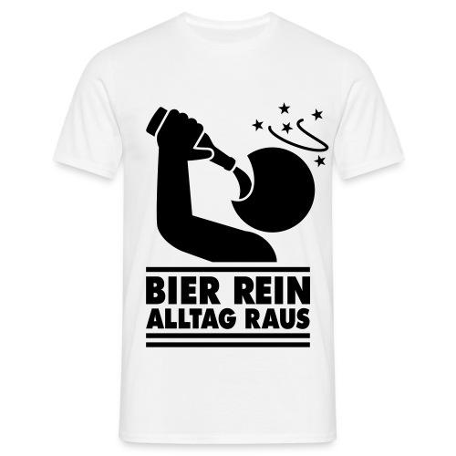 Rein raus - Männer T-Shirt