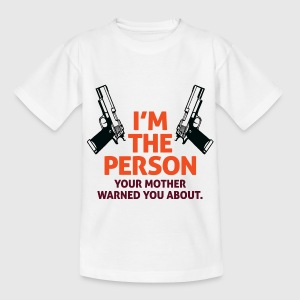 Im The Person 2 (dd)++ Kinder shirts - Teenager T-shirt
