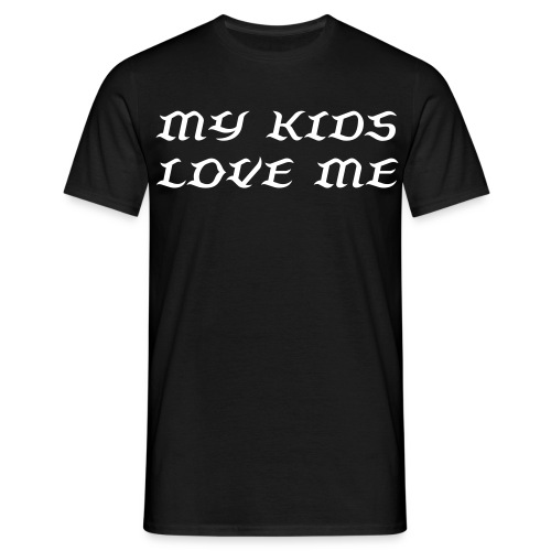 I love my kids - T-shirt herr