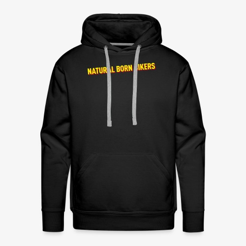 Natural born Bikers - Männer Premium Hoodie