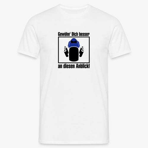 Z1000-Anblick - Männer T-Shirt
