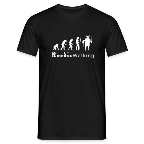 evolution_nordicwalking1 T-Shirts - Männer T-Shirt
