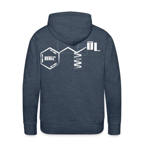 AL - compound hoody (white) - Men's Premium Hoodie