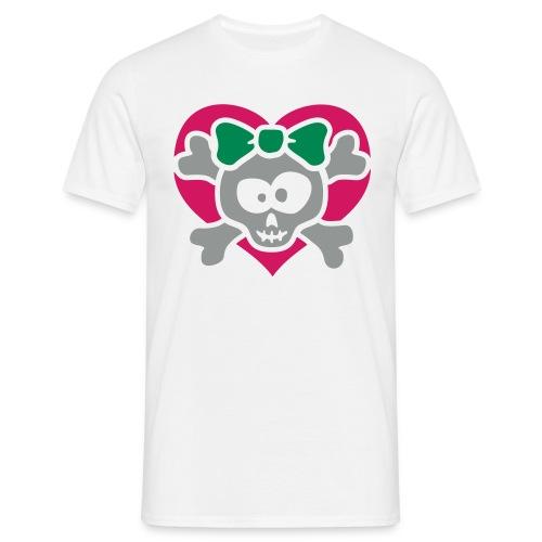 Heart girly - Männer T-Shirt
