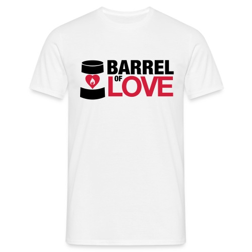 Barrel of Love T-Shirt - Men's T-Shirt